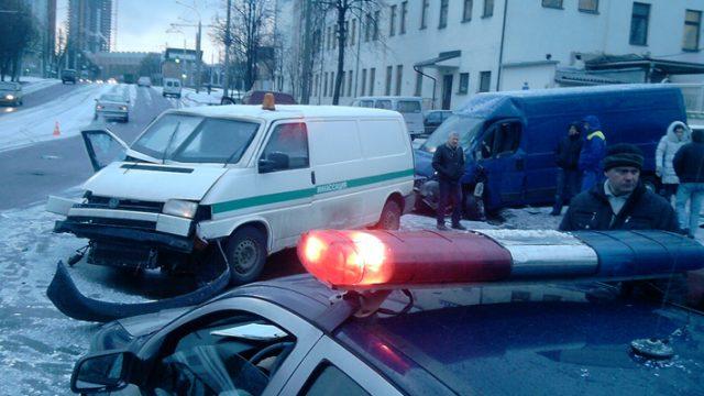 авария инкассаторская автомашина