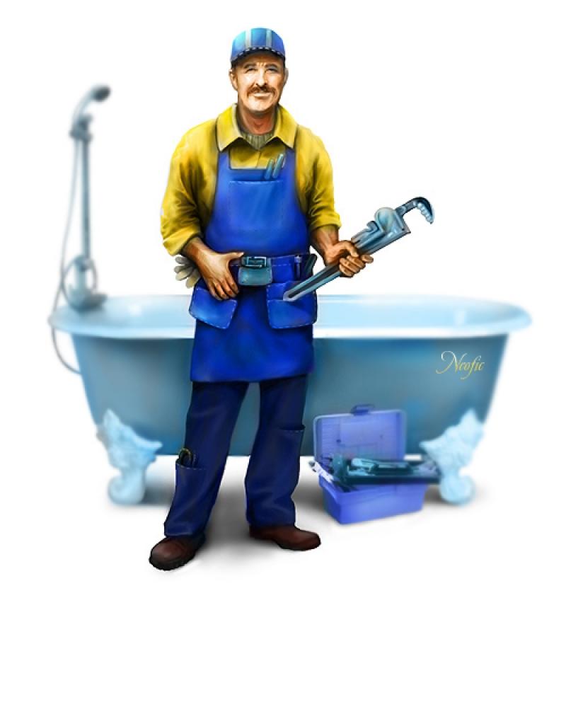 профессия сантехник с картинками