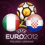 Италия и Хорватия сыграли вничью на Евро 2012