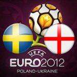 Англия обыграла Швецию на Евро 2012