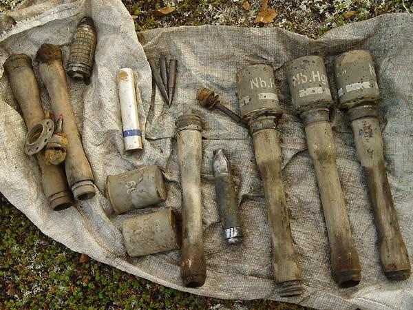В беларуси в лесу был обнаружен склад