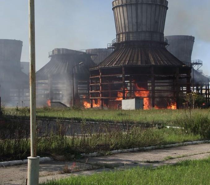 В Мозырском районе на предприятии Этанол произошел пожар