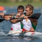 Беларусь завоевала серебро в двойках байдарках среди мужчин