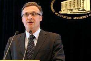 Пресс-секретарь МИД Беларуси Андрей Савиных