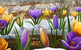 В Беларусь весна придет в конце марта