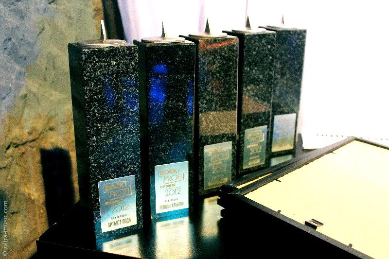 «Ляпис Трубецкой» получил сразу две статуэтки премии Rock Profi