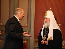 Александр Лукашенко и Патриарх Московский и всея Руси Кирилл