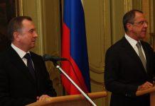 Встреча Макея и Лаврова