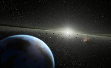 Движение остероидов в космосе