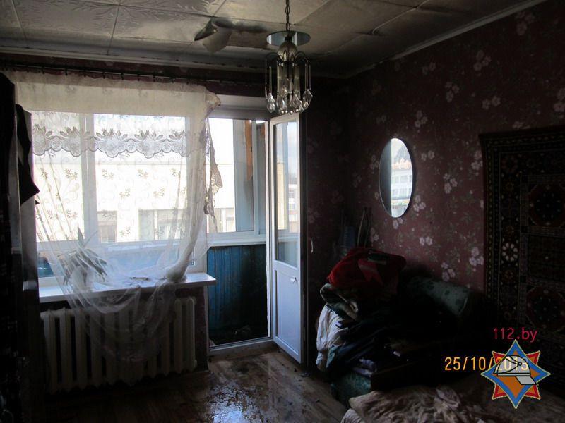 Квартира, где произошел пожар