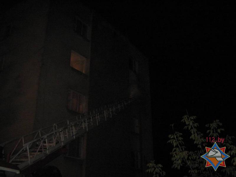 Пожар в общежитии ГУО «Бобруйский государственный строительный профессионально-технический колледж»