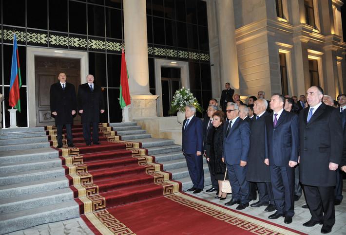 В Баку прошла церемония открытия посольства Беларуси в Азербайджане