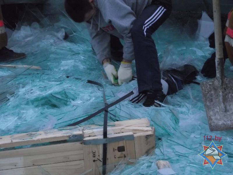 В Мозыре на предприятии погиб рабочий