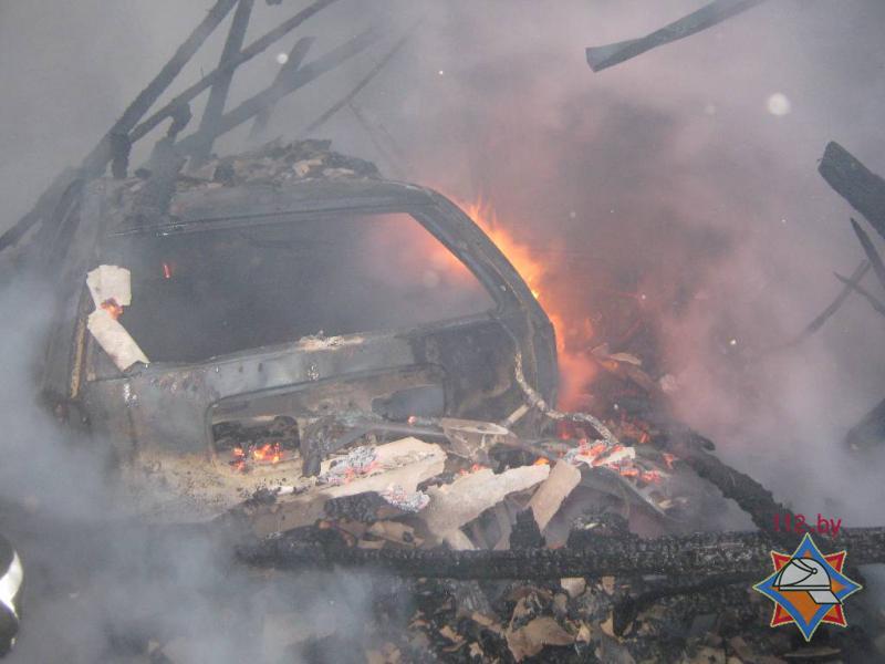 пожар в частном трехэтажном доме