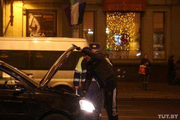 В центре Минска проходит акция «Стоп-налог»