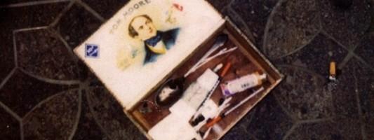 фото с места самоубийства Кобейна
