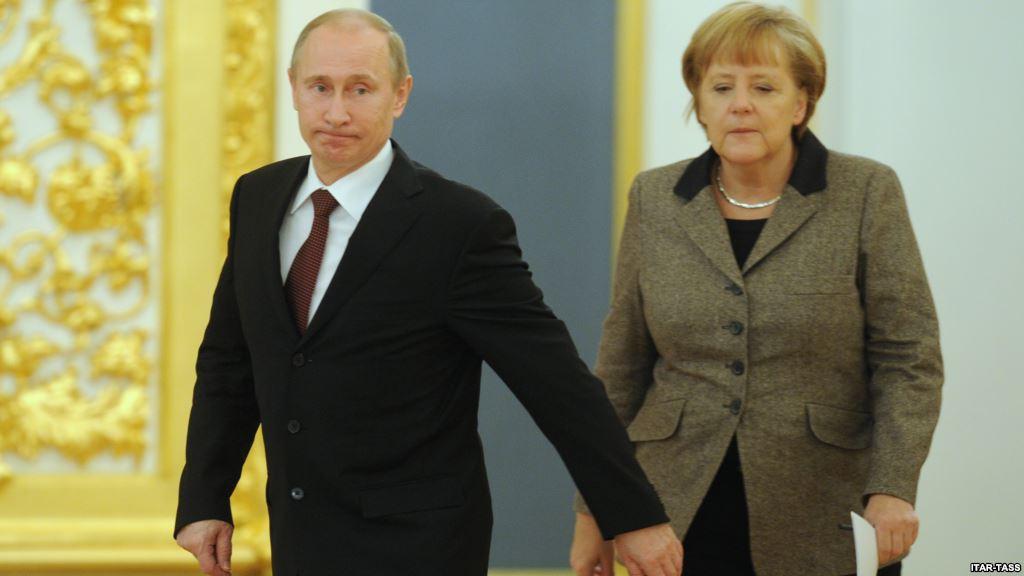 Разговор Путина и Меркель