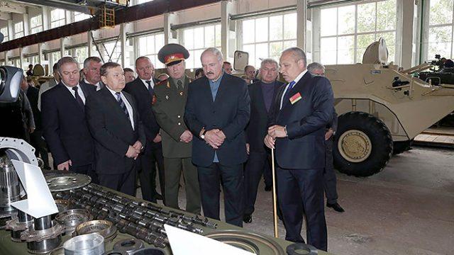 Лукашенко про пенсии
