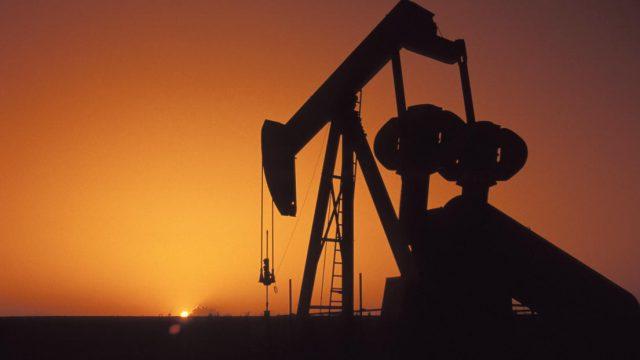 Новая залежь нефти