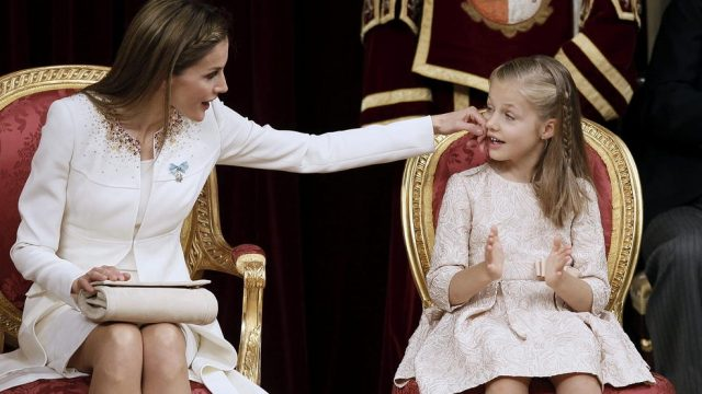 королева Летиция и её дочь