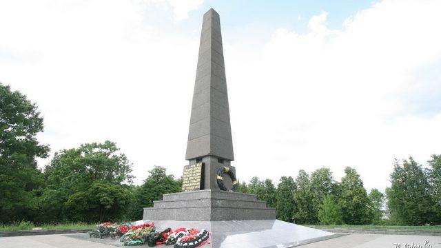 мемориальный комплекс Тростенец