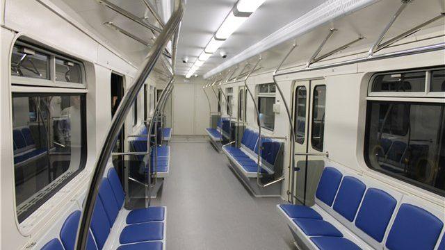новый вагон метро