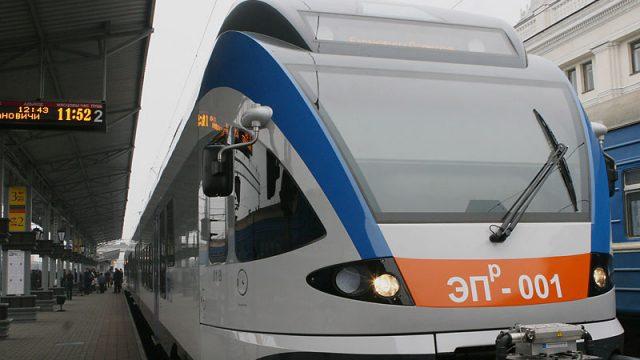 поезд межрегиональных линий бизнес-класса