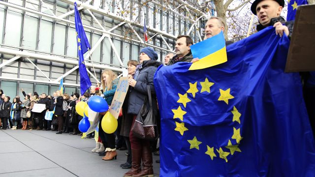 Белорусы об Украине