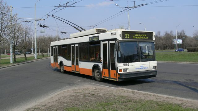 Троллейбус 33