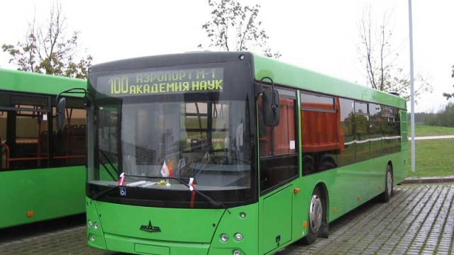 Маршруты автобусов
