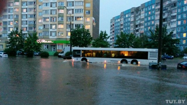 потоп в Минске