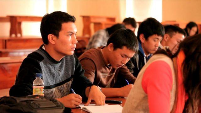 Монгольские студенты