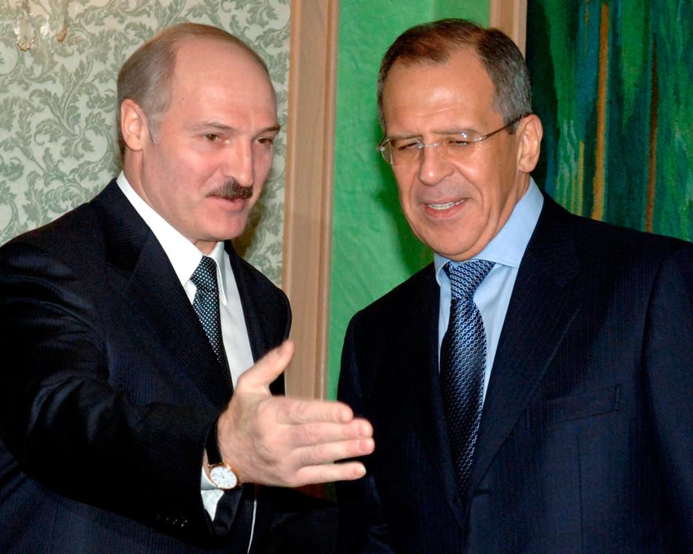Встреча Лукашенко и Лаврова