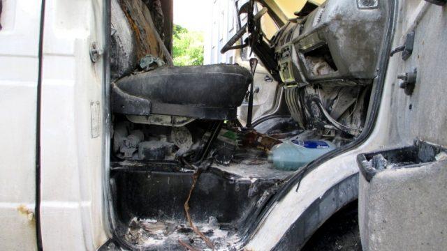 взрыв в авто