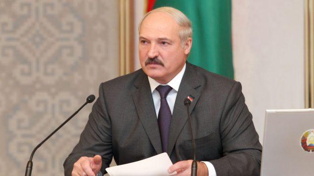 Лукашенко на белорусском