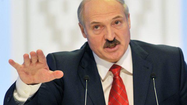 Пикет против Лукашенко