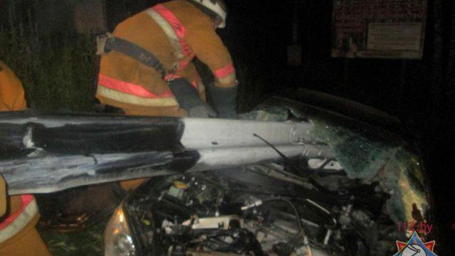 Авария в Минской области