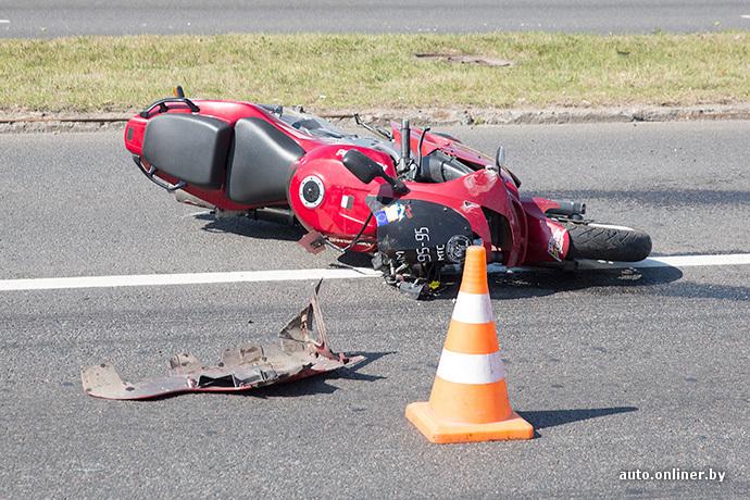 ДТП с участием мотоцикла
