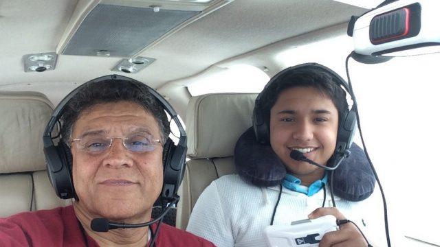 Харис Сулеман и его отец