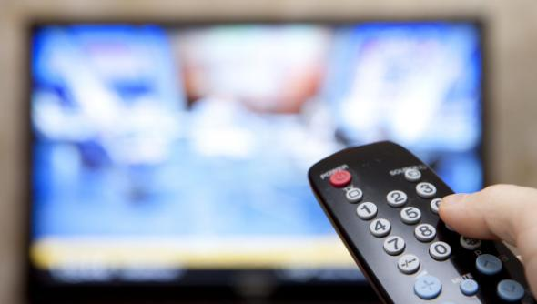 пульт и телевизор