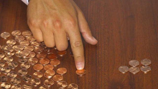 считать монеты