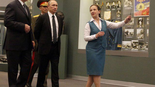 Путин в Минске