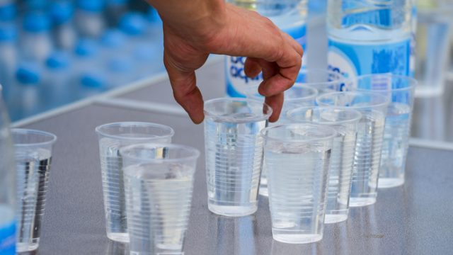 Раздача воды