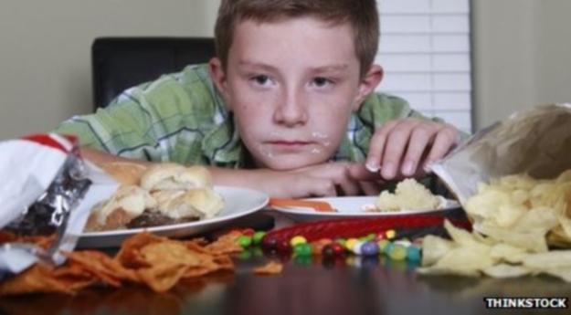 Детские телепередачи пропагандируют нездоровое питание