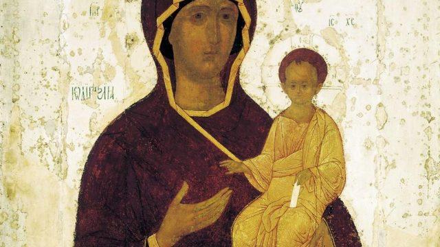 Смоленская икона Божьей матери Одигитрия