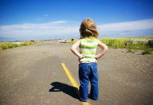 Ребенок на дороге