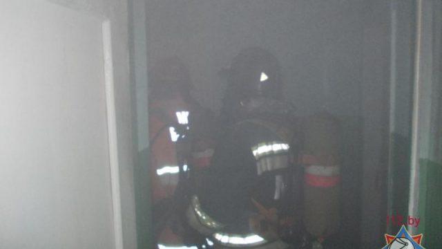 Пожар в Оршанском общежитии