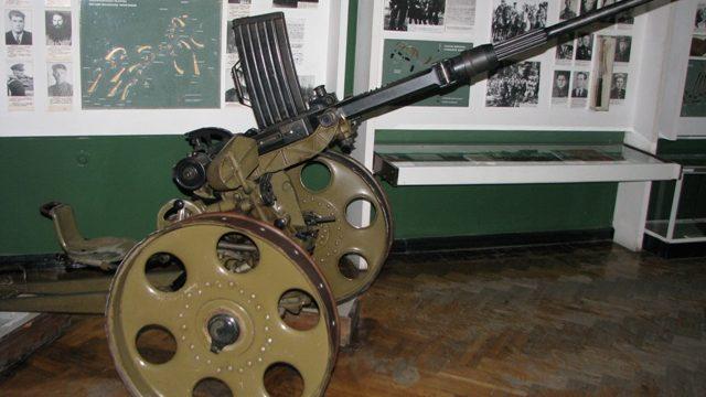 В музее истории ВОВ