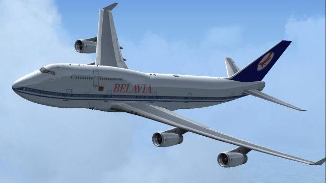 Возгорание самолета