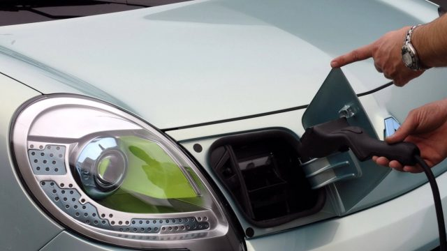 Заправка для электромобилей